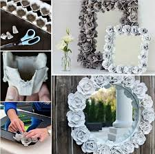 easy diy projects for home decor easy diy egg carton mirror pictures photos and images for