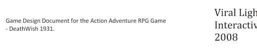 game design doc gdd 2