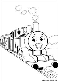 Coloriages de Thomas et ses amis