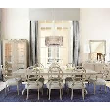 bernhardt criteria 9 piece dining set with splat back chairs