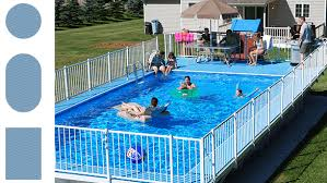 pool shapes and sizes above ground pools kayak pools midwest