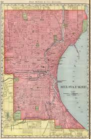 Milwaukee Wisconsin Map 287 besten wisconsin maps antique and vintage bilder auf pinterest