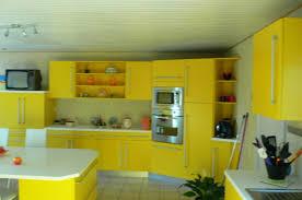 cuisine jaune et grise cuisine jaune et gris pas cher sur cuisine lareduc com avec cuisine