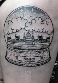 a creative tattoo of budapest u0027s architecture by dorca budapest
