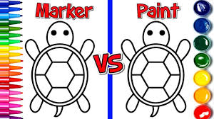 coloring books with turtle super coloring pages for kids and