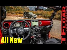 2018 jeep wrangler interior fully revealed stop the presses all new 2018 jeep wrangler jl interior revealed