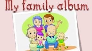 my photo album my family album family members lesson