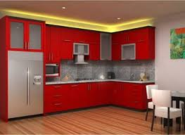 red kitchen cabinets diy diy red refrigerator painting red