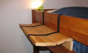 Wood To Make Bunk Beds by Build It Yourself Bunk Bed Side Table