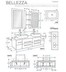 Standard Height Bathroom Vanity by Standard Height Bathroom Vanity Countertop Bathroom Decor Ideas
