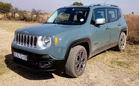 jeep renegade trailhawk blue jeep u0027s new baby has big attitude iol motoring