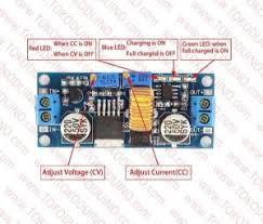 Jual Dc Step adjustable dc dc step charger converter xl4015 5a dc module
