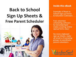 back to u0026 classroom sign up forms fast easy and free