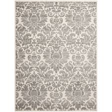 amazon com safavieh porcello collection prl3714a grey and ivory