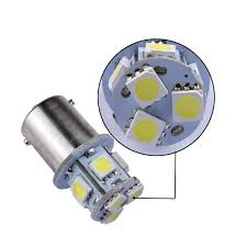Led Blue Light Bulb by Accessorygeeks Com 1156 Led Bulb 8 Smd Led Tower Ba15s