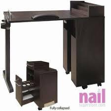 Nail Tech Desk by Easyfashion Portable U0026 Foldable Manicure Table Nail Technician