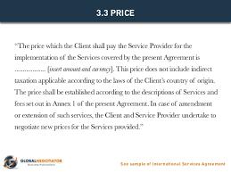 international services agreement template