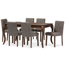 Walnut Dining Room Furniture Baxton Studio Wholesale 7 Sets Wholesale Dining Room