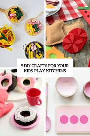 9 diy crafts for your kids u0027 play kitchens shelterness