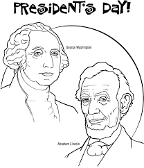 preschool presidents day coloring pages holidays coloring pages