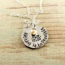 faith of a mustard seed necklace mustard seed necklace sted from woobie beans