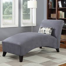 Gray Chaise Lounge Bedroom Ideas Modern Gray Velvet Chaise Lounge Chair With Black
