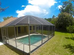enclosed pool home for sale in palm coast with pool palm coast homes for sale on