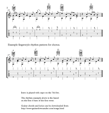 lights down low guitar chords let her go chords and lyrics by passenger includes correct guitar tab