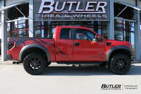 Ford Raptor Truck Tires - ford raptor with 20in fuel octane wheels exclusively from butler