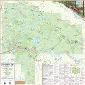 Algonquin Park Interior Camping Official Algonquin Park Canoe Routes Map Online Algonquin