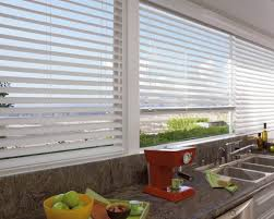 kitchen modern venetian kitchen blind over sink and kitchen