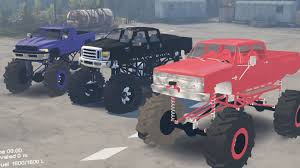 dodge mud truck spintires mods mega mud trucks chevy vs ford vs dodge