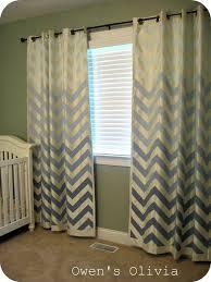 Chevron Nursery Curtains These Chevron Ombré Curtains Home Sweet Home Pinterest
