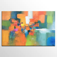 abstract art contemporary painting for sale heavy texture wall