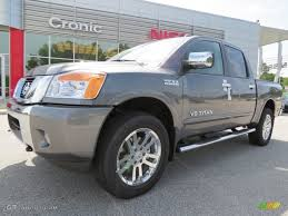 chrome nissan 2013 gun metallic nissan titan sl heavy metal chrome edition crew