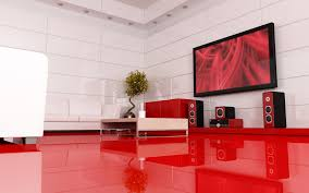 Red And Gray Living Room Interior Great Modern Awesome Interior Living Room Decoration