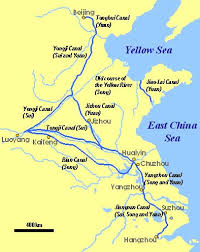 grand map grand canal map china tour background information