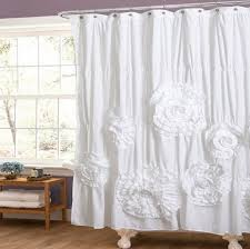 shab chic shower curtain shab chic curtain and some examples