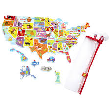 United States Map Puzzle by Alex Toys Rub A Dub Usa Map In The Tub Puzzle 30 Piece Toys
