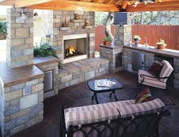 Building Outdoor Fireplace With Cinder Blocks by How To Build An Outdoor Stone Fireplace Home Fireplaces Firepits