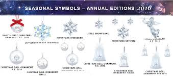 Swarovski Christmas Ornaments First Year by Swarovski Merry Christmas Crystal Ornaments Crystal Fox Gallery