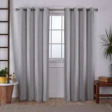 Silver Window Curtains Silver Curtains Drapes Window Treatments The Home Depot