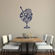 Dining Room Wall Decals Fruit Wall Sticker Modern Fruit Wall Decal Diy Dining Room Wall