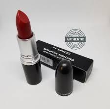 matte maroon lipstick mac cosmetics matte creme lipstick russian red 100 authentic ebay