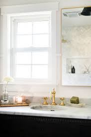 White Marble Bathroom by A Guest Bathroom Renovation The Reveal U2014 Boxwood Avenue