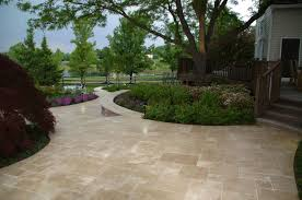 Travertine Patio Landscape Design Landscape Contractors Elaoutdoorliving Com