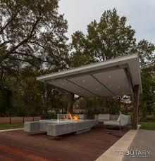 pool pavilion designs geometric mid century modern tributary pools u0026 spas