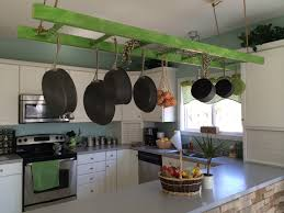 Kitchen Rack Designs by Kitchen Style Black Wall Mounted Pot Rack Rectangle Sheldon Harte