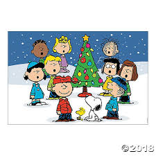 peanuts christmas peanuts backdrop