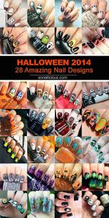 28 amazing halloween nail art ideas